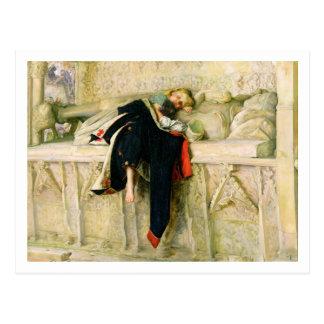 L'Enfant du Regiment (der gelegentliche Schuss) Postkarte