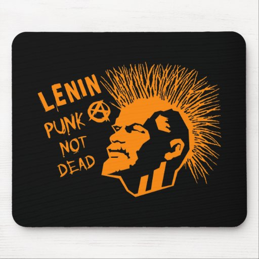 Lenin-Punk nicht totes C Mauspads