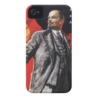 Lenin - russischer Kommunist iPhone 4 Etuis