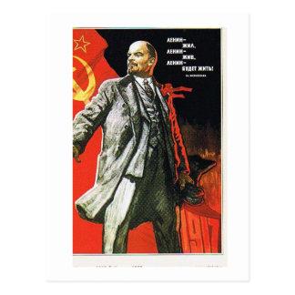 Lenin-Vater von der Sowjetunion Postkarte