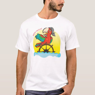 Lenny der Piraten-Papagei T-Shirt