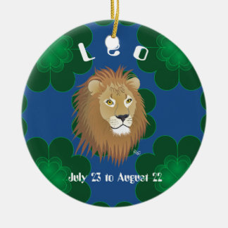 Leo July 23 to August 22 Ornament