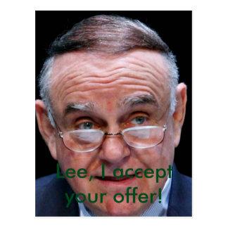 Leon Cooperman Postkarte
