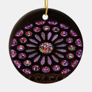 Leon-Kathedralenfenster, EL Camino, Spanien Keramik Ornament