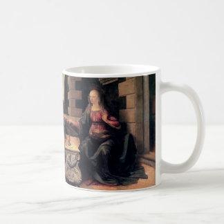 Leonardo da Vinci-Ankündigung Kaffeetasse