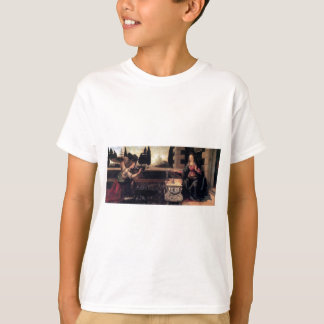 Leonardo da Vinci-Ankündigung T-Shirt