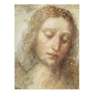 Leonardo da Vinci - der Christus Postkarten