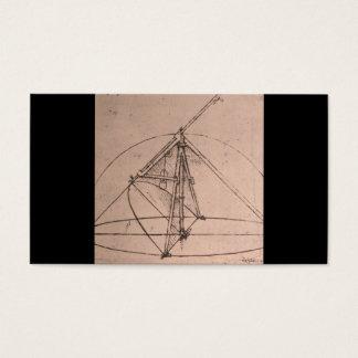 Leonardo da Vinci, Entwurf für einen Parabolischen Visitenkarte