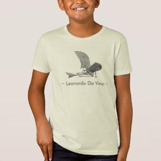 Leonardo da Vinci-Flugmaschine T-Shirt