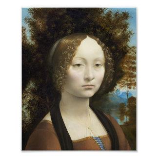 Leonardo da Vinci Ginevra de' Benci Kunst Photo
