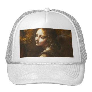 Leonardo da Vinci Jungfrau des Felsen-Engels-Hutes Retrokultkappen