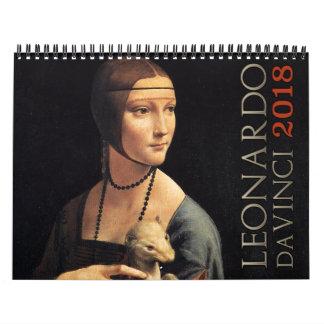 Leonardo da Vinci-Kunst 2018 Kalender