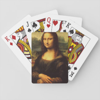 LEONARDO DA VINCI - Mona Lisa, La Gioconda 1503 Spielkarten