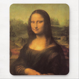 Leonardo Da Vinci Mona Lisa Mousepads