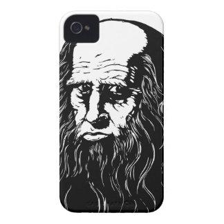 Leonardo da Vinci - Porträt iPhone 4 Hüllen