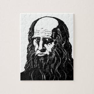 Leonardo da Vinci - Porträt Puzzle