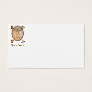 Leonardo da Vinci Produkte Visitenkarte