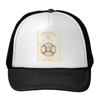 Leonardo da VinciOctahedron Baseballmütze