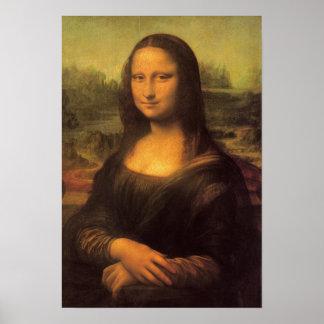 Leonardo da Vincis Mona Lisa Poster
