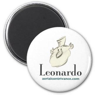 LEONARDO - Magnetstandardgröße Runder Magnet 5,7 Cm
