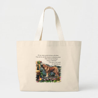 Leonberger Kunst-Geschenke Jumbo Stoffbeutel
