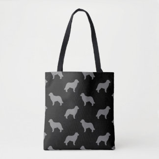 Leonberger Silhouette-Muster Tasche