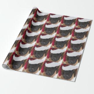 Leonberger Welpe Sankt Geschenkpapier