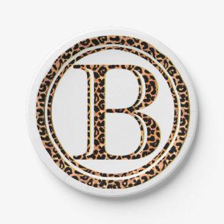 Leopard B Pappteller