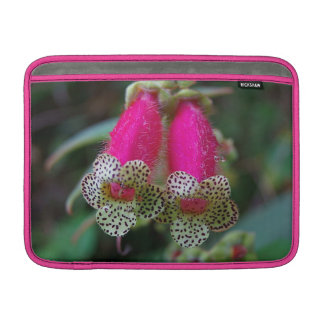 Leopard-Blumen-Entwurf Sleeve Fürs MacBook Air
