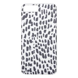 Leopard-Bürsten-Druck iPhone 8 Plus/7 Plus Hülle
