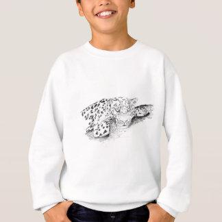 Leopard_by James Smith Sweatshirt