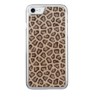 Leopard Carved iPhone 8/7 Hülle