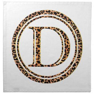 Leopard D Stoffserviette