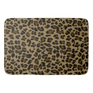 Leopard-Druck-Bad-Matte Badematten