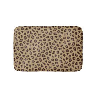 Leopard-Druck Badematten