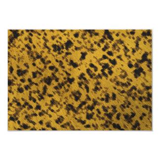 Leopard-Druck 8,9 X 12,7 Cm Einladungskarte