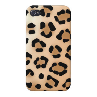Leopard-Druck - iPhone 3 Fall iPhone 4 Etuis