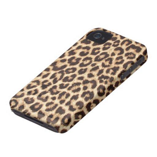 Leopard-Druck iPhone 4/4S Fall iPhone 4 Case-Mate Hüllen