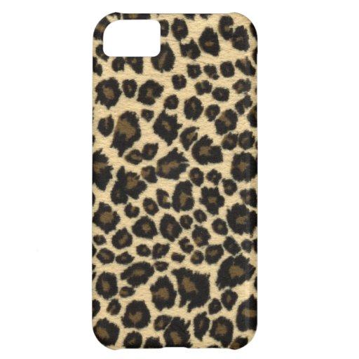 Leopard-Druck iPhone 5 Fall Hülle Für iPhone 5C