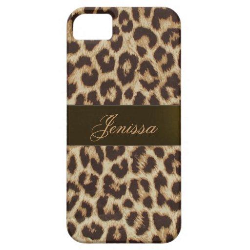 Leopard-Druck iPhone 5 Fall Schutzhülle Fürs iPhone 5