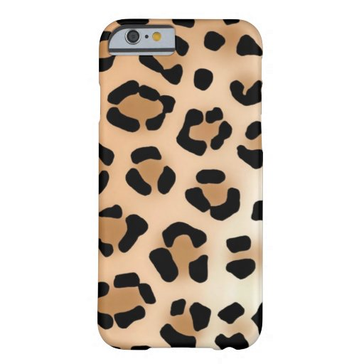 Leopard-Druck iPhone 6 Fall Barely There iPhone 6 Hülle