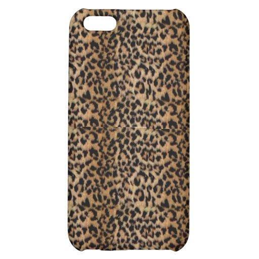 Leopard-Druck Iphone Fall Hülle Für iPhone 5C