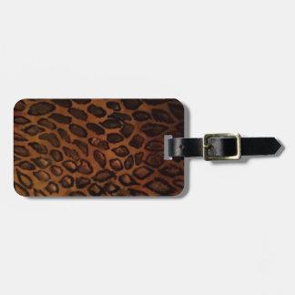 Leopard-Druck Kofferanhänger