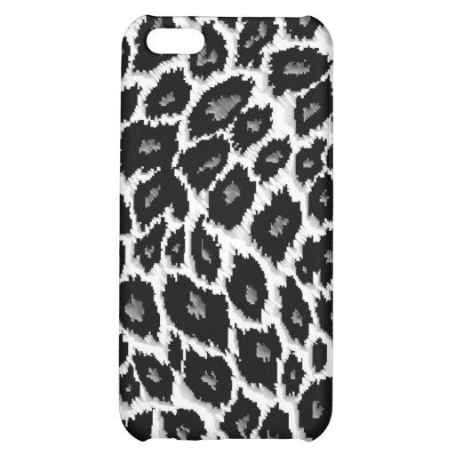 Leopard-Druck personalisierter Iphone 4 Fall iPhone 5C Hüllen