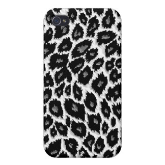 Leopard-Druck personalisierter Iphone 4 Fall iPhone 4 Schutzhüllen