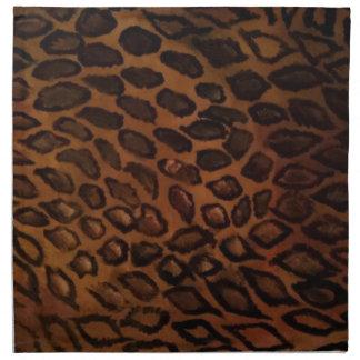 Leopard-Druck Stoffserviette