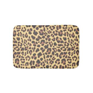 Leopard-Druck-Tierhaut-Muster Badematten
