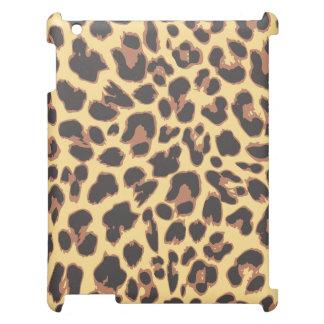 Leopard-Druck-Tierhaut-Muster iPad Hülle