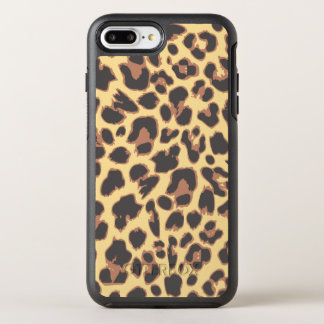 Leopard-Druck-Tierhaut-Muster OtterBox Symmetry iPhone 8 Plus/7 Plus Hülle