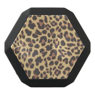 Leopard-Druck-Tierhaut-Muster Schwarze Bluetooth Lautsprecher